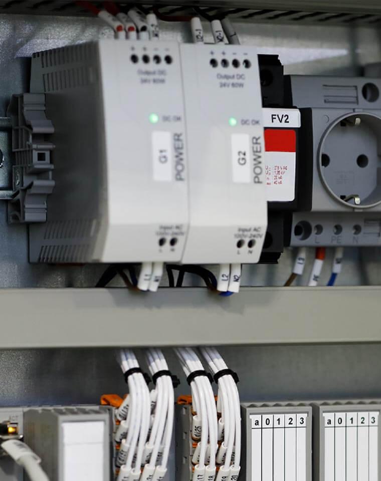 PLC equipment power box